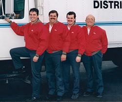 Glen, Paul, John, and Richard Inderbitzin